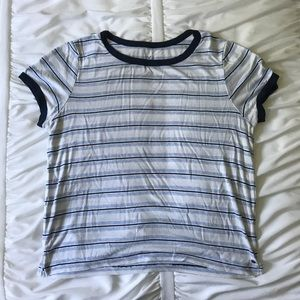 Soft & sexy striped tee